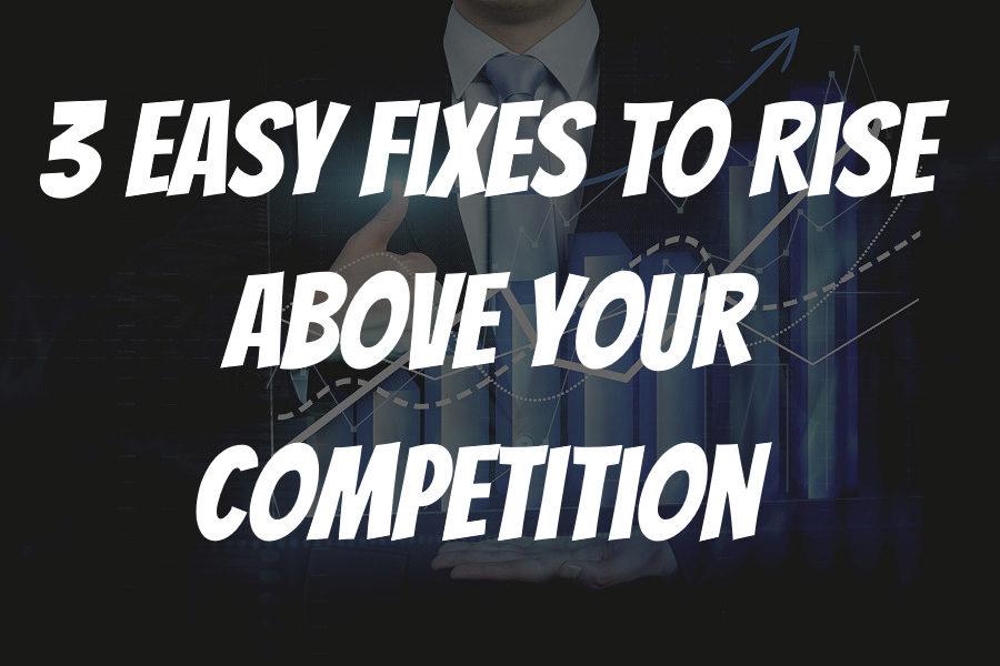 3 easy fixes